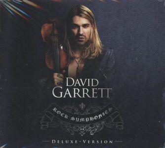 Foto Cover di Rock Symphonies, CD di David Garrett, prodotto da Decca