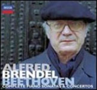 CD Sonate per pianoforte - Concerti per pianoforte di Ludwig van Beethoven