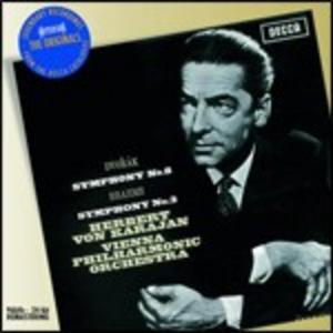 CD Sinfonia n.3 / Sinfonia n.8 Johannes Brahms , Antonin Dvorak
