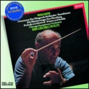 CD Ouvertures - Preludi di Richard Wagner