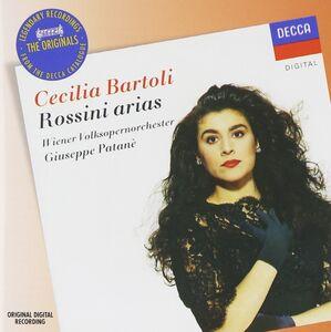 Foto Cover di Arie, CD di Cecilia Bartoli,Gioachino Rossini, prodotto da Decca