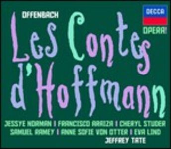 CD I racconti di Hoffmann (Les Contes d'Hoffmann) di Jacques Offenbach