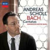 CD Cantate Johann Sebastian Bach Andreas Scholl Orchestra da camera di Basilea