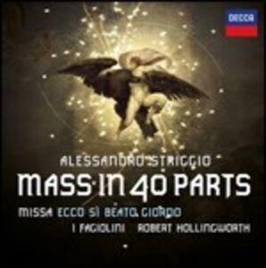 Foto Cover di Messa in 40 parti, CD di AA.VV prodotto da Decca