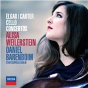 CD Concerti per violoncello Edward Elgar , Elliott Carter