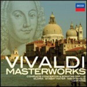 Foto Cover di Vivaldi Masterworks, CD di Antonio Vivaldi, prodotto da Decca