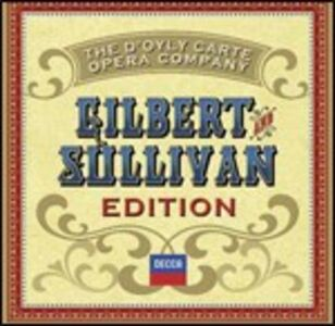 Foto Cover di Gilbert and Sullivan Edition, CD di William S. Gilbert,Arthur Sullivan, prodotto da Decca
