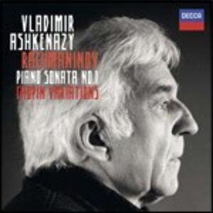 CD Sonata per pianoforte n.1 - Variazioni su un tema di Chopin di Sergei Vasilevich Rachmaninov