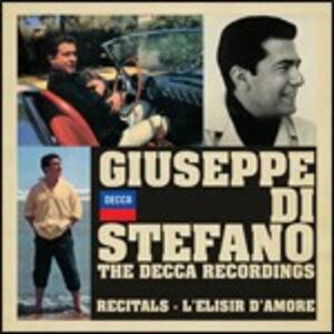 CD The Decca Recordings. Recitals - L'elisir d'amore