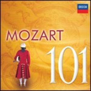 CD Mozart 101 di Wolfgang Amadeus Mozart