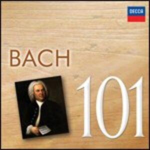 CD Bach 101 di Johann Sebastian Bach