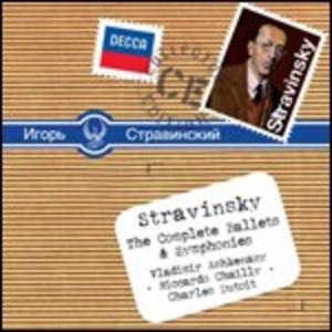 CD Balletti - Sinfonie di Igor Stravinsky