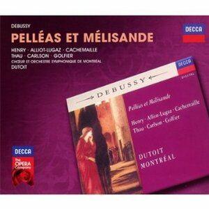 CD Pélléas et Mélisande di Claude Debussy