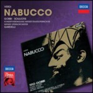 Foto Cover di Nabucco, CD di AA.VV prodotto da Decca