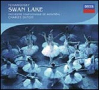 CD Il lago dei cigni di Pyotr Il'yich Tchaikovsky