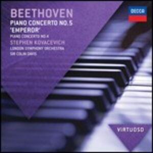 Foto Cover di Concerti per pianoforte n.4, n.5, CD di AA.VV prodotto da Decca
