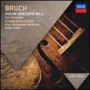 Foto Cover di Concerto per violino n.1 - Fantasia scozzese, CD di AA.VV prodotto da Decca