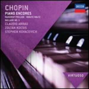 CD Piano encores di Fryderyk Franciszek Chopin