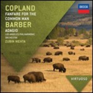 CD Fanfare for a Common Man / Adagio Aaron Copland , Samuel Barber