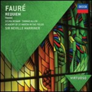CD Requiem - Pélléas et Mélisande suite di Gabriel Fauré
