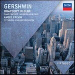 CD Rapsodia in blu - Un Americano a Parigi - Concerto in Fa di George Gershwin