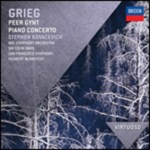 CD Peer Gynt Suite - Concerto per pianoforte di Edvard Grieg
