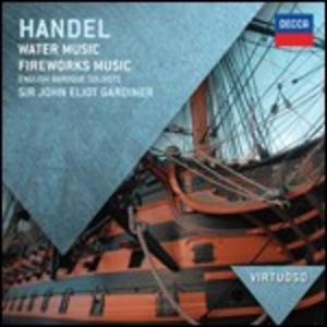 CD Musica sull'acqua (Water Music) - Musica per i reali fuochi d'artificio (Music for the Royal Fireworks) di Georg Friedrich Händel