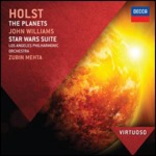 I pianeti (The Planets) / Star Wars Suite - CD Audio di John Williams,Gustav Holst,Zubin Mehta,Los Angeles Philharmonic Orchestra