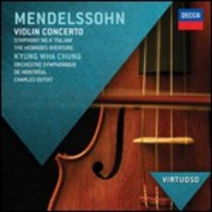 CD Concerto per violino di Felix Mendelssohn-Bartholdy