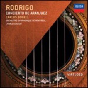 CD Concierto de Aranjuez - Fantasia para un gentilhombre di Joaquin Rodrigo