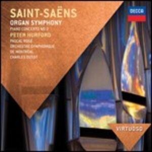 CD Sinfonia n.3 - Concerto per pianoforte n.2 di Camille Saint-Saëns
