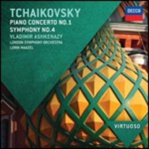 CD Concerto per pianoforte n.1 - Sinfonia n.4 di Pyotr Il'yich Tchaikovsky