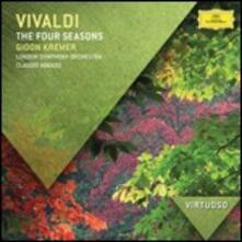 Le quattro stagioni - CD Audio di Antonio Vivaldi,Gidon Kremer,Claudio Abbado