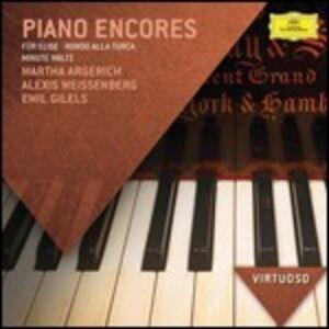 CD Piano encores