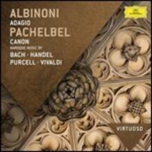 Musica barocca - CD Audio di Tomaso Giovanni Albinoni,Johann Sebastian Bach,Henry Purcell,Antonio Vivaldi,Johann Pachelbel,Georg Friedrich Händel,English Concert,Trevor Pinnock