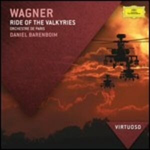 CD Ride of the Valkyries. Brani orchestrali di Richard Wagner