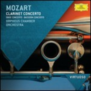 CD Concerto per clarinetto di Wolfgang Amadeus Mozart