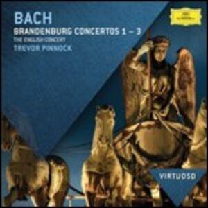 CD Concerti brandeburghesi n.1, n.2, n.3 di Johann Sebastian Bach