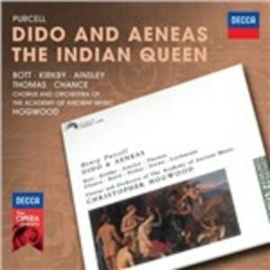 Foto Cover di Dido and Aeneas - The Indian Queen, CD di AA.VV prodotto da Decca
