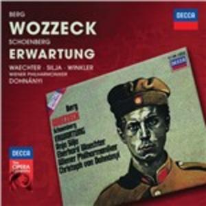 CD Wozzeck / Erwartung Alban Berg , Arnold Schönberg , Erno Dohnanyi