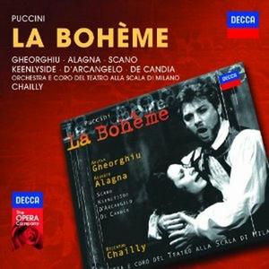CD La Bohème di Giacomo Puccini