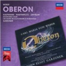 Oberon - CD Audio di Carl Maria Von Weber,John Eliot Gardiner,Orchestre Révolutionnaire et Romantique,Hillevi Martinpelto,Jonas Kaufmann,Monteverdi Choir