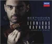 CD Sonate per violino complete Ludwig van Beethoven Leonidas Kavakos
