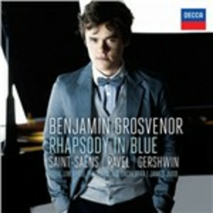 CD Rapsodia in Blu - Concerto in Sol / Concerto per pianoforte n.2 George Gershwin , Maurice Ravel , Camille Saint-Saëns
