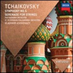 CD Sinfonia n.5 - Serenata per archi di Pyotr Il'yich Tchaikovsky