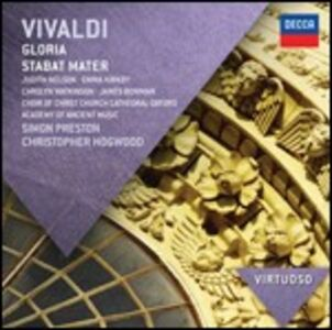 CD Gloria di Antonio Vivaldi