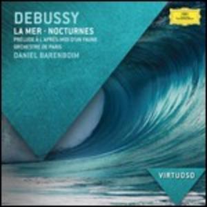 CD Nocturnes - Préludes - La mer di Claude Debussy