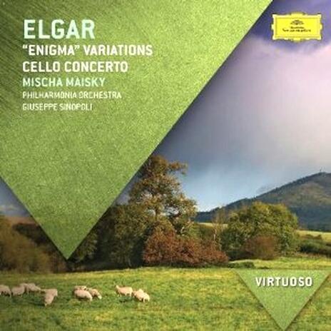 Pomp & Circumstances - Concerto per violoncello - Variazioni Enigma - CD Audio di Edward Elgar,Giuseppe Sinopoli,Mischa Maisky,Philharmonia Orchestra