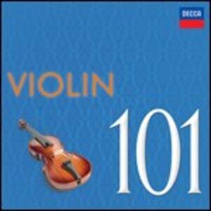 Foto Cover di 101 Violin, CD di  prodotto da Decca