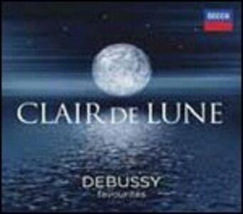 Foto Cover di Clair de Lune. Debussy Favourites, CD di Claude Debussy, prodotto da Decca